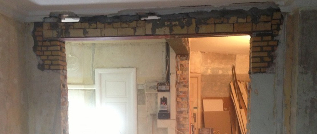 Nedrivning af bærende væg